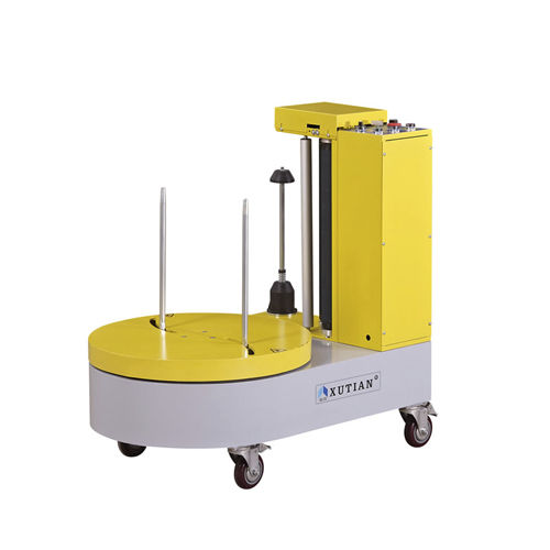 avvolgitrice fasciapallet a tavola rotante / automatica / per bagagli / mobile