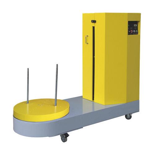 avvolgitrice fasciapallet a tavola rotante / manuale / per bagagli / mobile