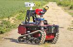 drone terrestre di monitoraggio / di lotta agli incendi