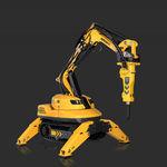 robot di demolizione telecomandato / compatto / per l'industria nucleare