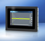 pannello operatore con touch screen / ad incastro / montato su veicolo / 480 x 272
