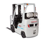 carrello elevatore benzina / a GPL / a gas / con conducente seduto