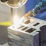 saldatura laser / titanio / nichel / acciaio