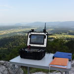 stazione terrestre per drone