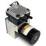 pompa per gas / con motore brushless DC / a pistone / industriale
