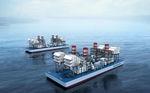 centrale elettrica a girante / galleggiante