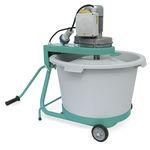 miscelatore a palette / discontinuo / solido / per cemento