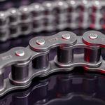 catena di trasmissione / in acciaio / a rulli / ad uso industriale