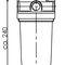 lampada / a tubo fluorescente compatto / multifunzione / in policarbonato