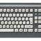 tastiera ad incastro / a tasti meccanici / 105 tasti / con sistema di puntamento
