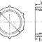 cappuccio filettato / tondo / in polietilene a bassa densità PEBD / di protezione