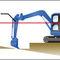 ricevitore laser per il posizionamento di macchine da cantiere