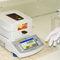 misuratore di umidità per materiali solidi / tipo forno essiccatore / con display digitale / portatile
