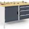 banco da lavoro in legno / modulare / multi-cassetti