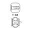 pompa per prodotti chimici / a membrana / per il settore agricolo / di comando