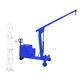 gru mobile / pieghevole / con comando elettrico / ad altezza regolabile