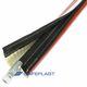 guaina di protezione / tubolare / per tubi flessibili / isolata