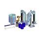 cella robotizzata di scarico / di carico / lucidatrice / di rettifica