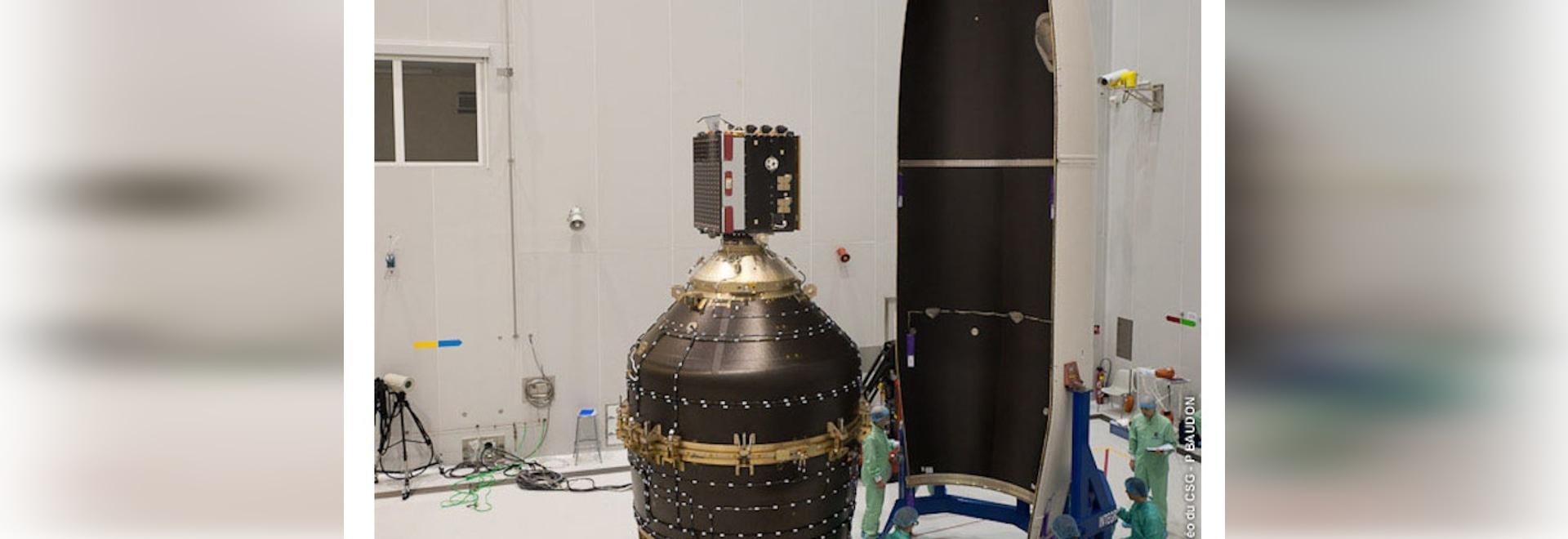 L'Agenzia spaziale europea lancia un robot per ripulire lo spazio