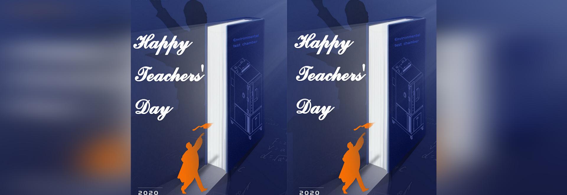 Buona Giornata degli Insegnanti!