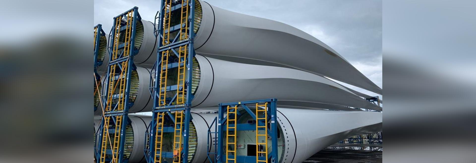 Compositi riciclati dalle pale delle turbine eoliche utilizzate per il co-processing del cemento