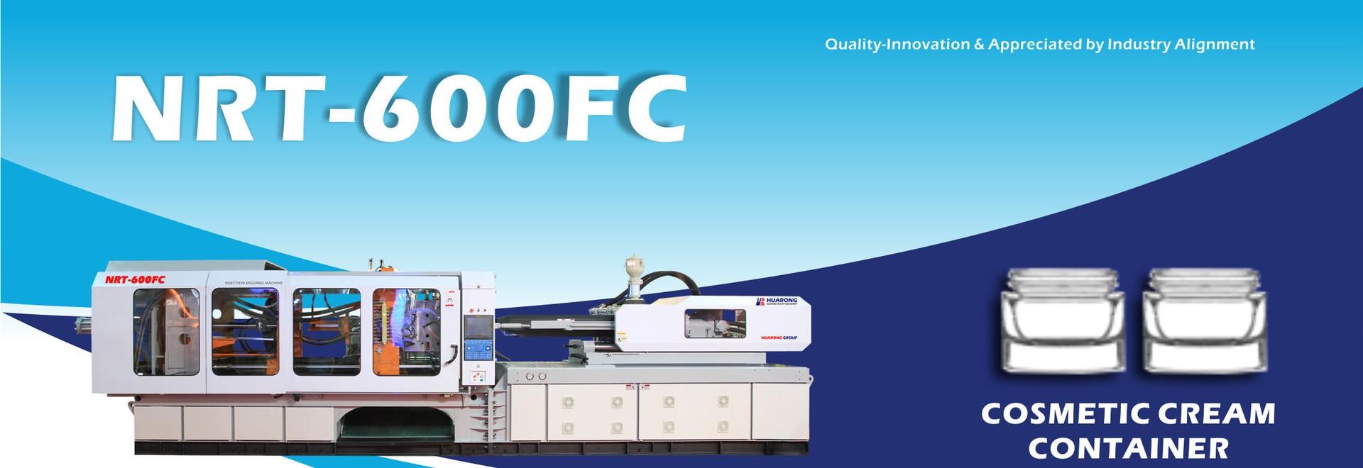 HUARONG INJECTION MOLDING MACHINE MOLDING MACHINE Servo System HR-600ton confezione cosmetici