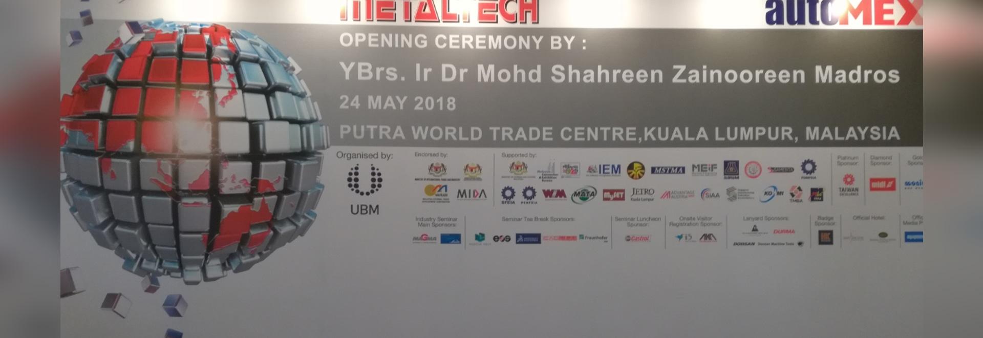 Jianlong ha partecipato con successo nel 2018 la Malesia Automex