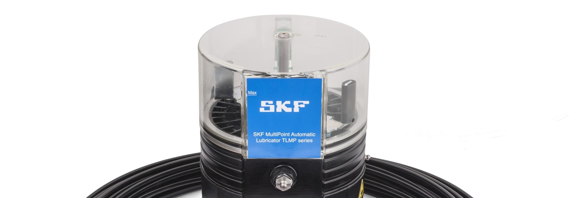 Lubrificatore automatico multipunto TLMP 1008 di SKF