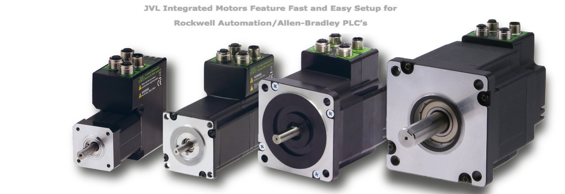 I motori integrati JVL sono caratterizzati da una configurazione semplice e veloce per i PLC Rockwell Automation/Allen-Bradley