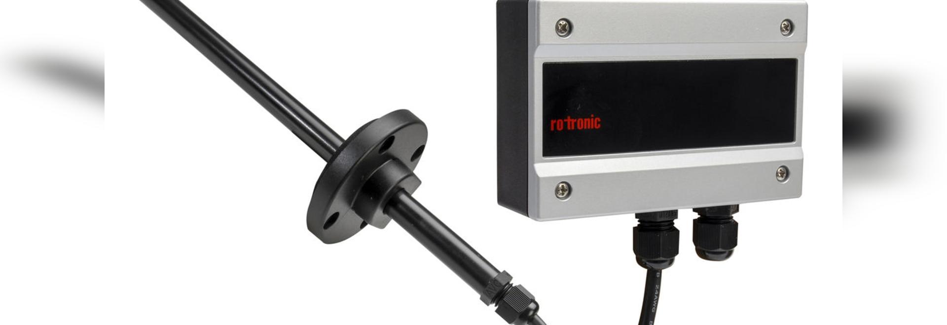 NOVITÀ: trasmettitore e di portata calorimetrico by ROTRONIC AG