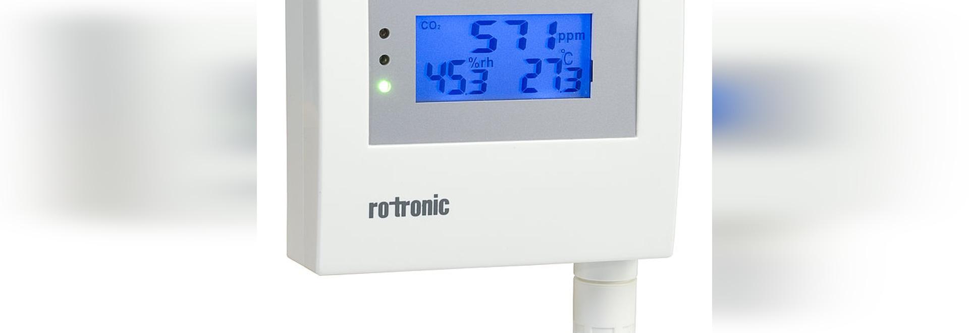 Il nuovo trasmettitore di CO2, umidità e temperatura