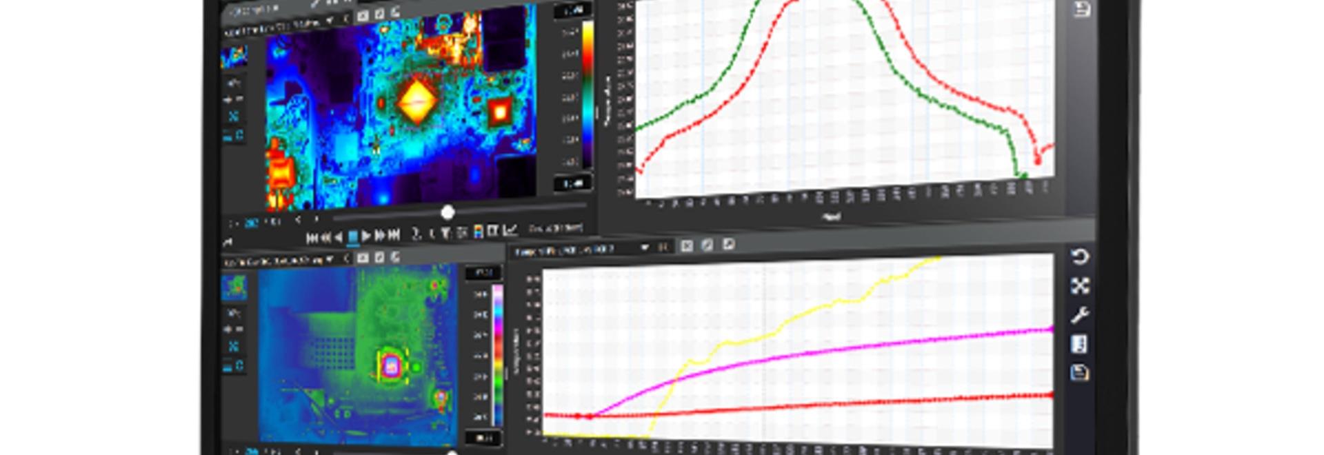 Software multipiattaforma per la raccolta e l'analisi dei dati di immagini termiche