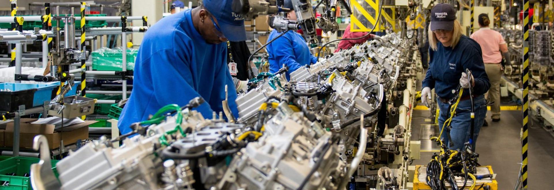 La Toyota Environmental 2050 Challenge chiede all'azienda di eliminare le emissioni di CO2 dai suoi impianti di produzione globali entro il 2050.