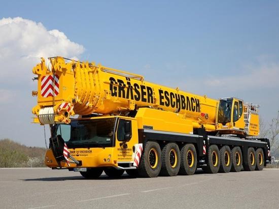 La gru mobile Liebherr diventa il fiore all'occhiello dell'azienda tedesca di noleggio gru