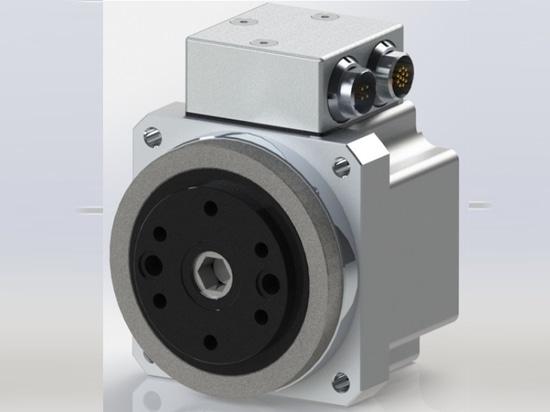 Servocomando Harmonic Drive FHA-C Mini 24V con doppio encoder assoluto e connettori per montaggio a pannello