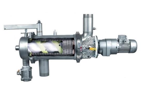 Filtro autopulente automatico in linea per la filtrazione della resina solida