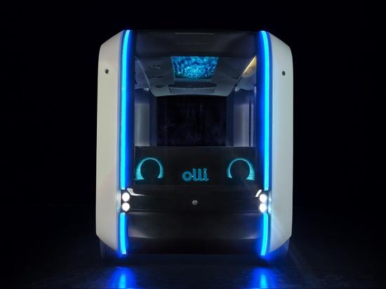 Incontra Olli 2.0, uno shuttle autonomo stampato in 3D