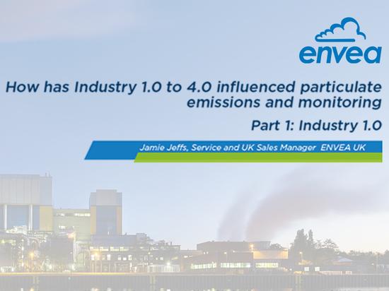 In che modo l'industria 1.0-4.0 ha influenzato le emissioni di particolato e il monitoraggio