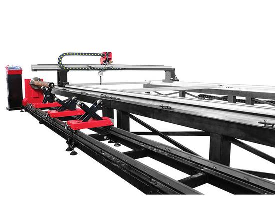 Macchina di taglio a portale SteelTailor Dragon III-Tt e macchina di taglio tubi cnc