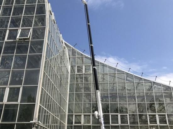 I Ragni Palazzani possono essere utilizzati davvero ovunque! Ragno TSJ 35/C al lavoro in un cantiere in Siberia