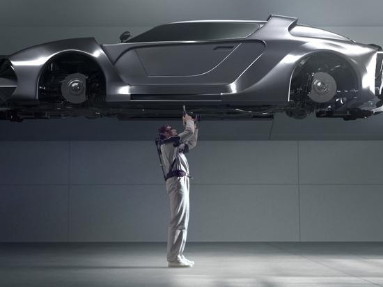 Hyundai sviluppa un esoscheletro indossabile per lavori sopraelevati