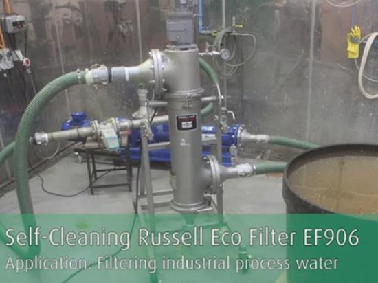 Filtrazione liquida per acqua di processo industriale