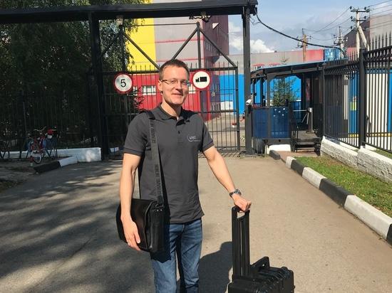 Stanislav Biryukov in visita ai clienti