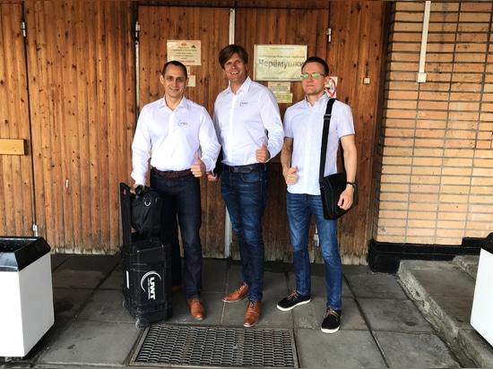 Stanislav Biryukov, Andrey Kireev e Markus Schalk in tour a Mosca