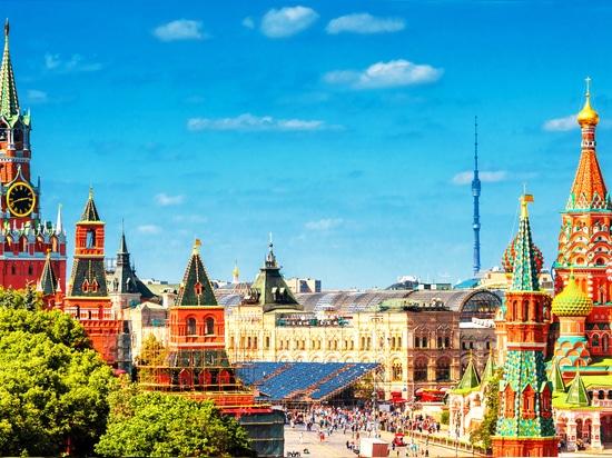 Mosca - un sacco di luoghi mozzafiato