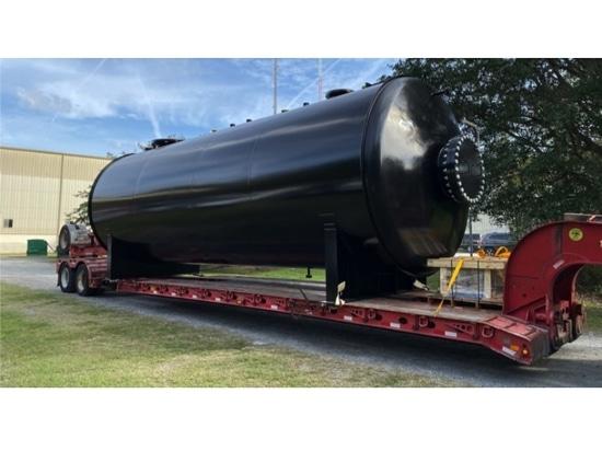 ROSS offre una nave da 20.000 galloni costruita su misura e riscaldata su misura