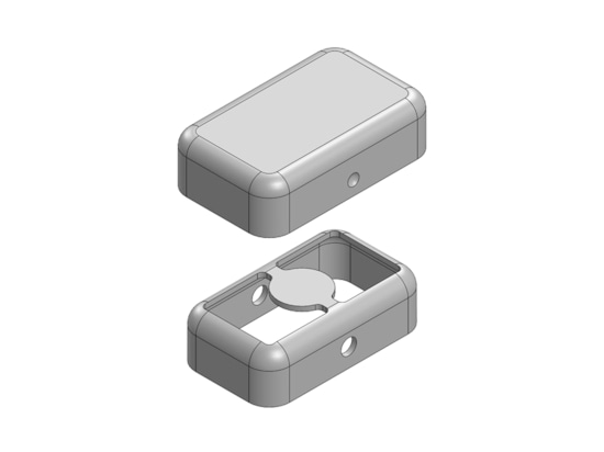 MS102-10 Schermo EMI/RFI a due pezzi senza strisciamento
