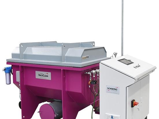 Sistema di aspirazione termica VACUCLEAN di SCHWING Technologies