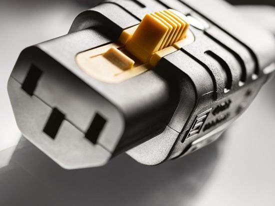 Primo ingresso per apparecchi IEC ricablabili con V-Lock