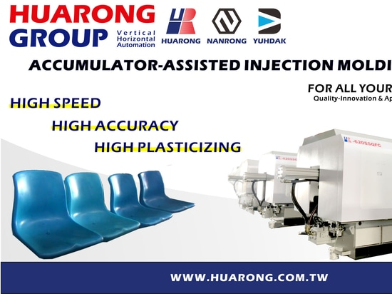 Sedia Huarong Accumulator-Assisted Injection Molding Machine HR-620SSQFC
